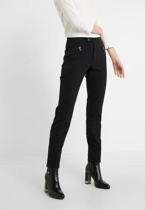 LINDY - Spodnie materiałowe - black