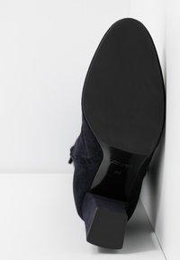 Alberto Zago - High heeled boots - blue - 6