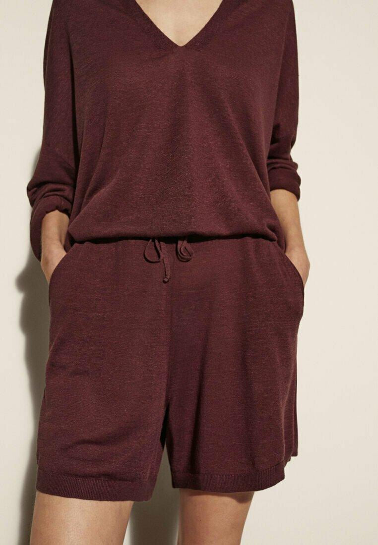 Massimo Dutti - Shorts - red