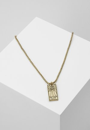 BEACH DAYS PALM SCENE NECKLACE - Necklace - gold-coloured