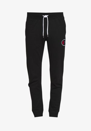 ROCHESTER RIB CUFF PANTS - Pantalon de survêtement - black