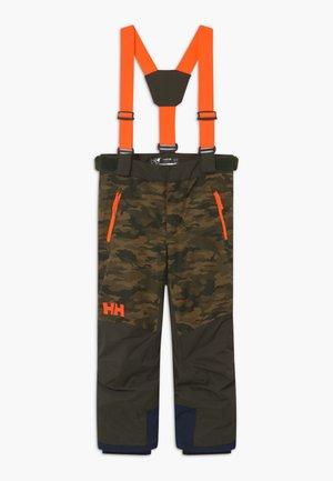 JR NO LIMITS 2.0 - Zimní kalhoty - olive