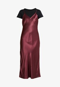 EDIT SLIP DRESS - Day dress - vineyard wine