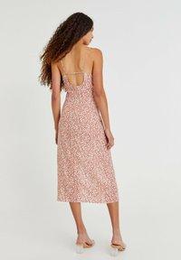 PULL&BEAR - Day dress - mottled light brown - 2