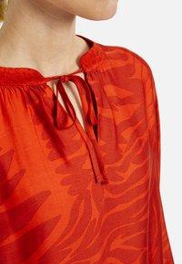 MILANO ITALY - Blouse - orange print - 3