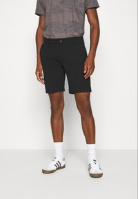 INDICODE JEANS - AALBORG - Shorts - black - 0