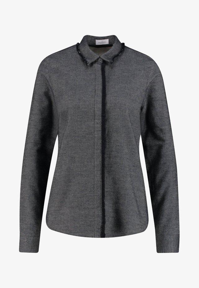 LENI-PB - Button-down blouse - anthracite