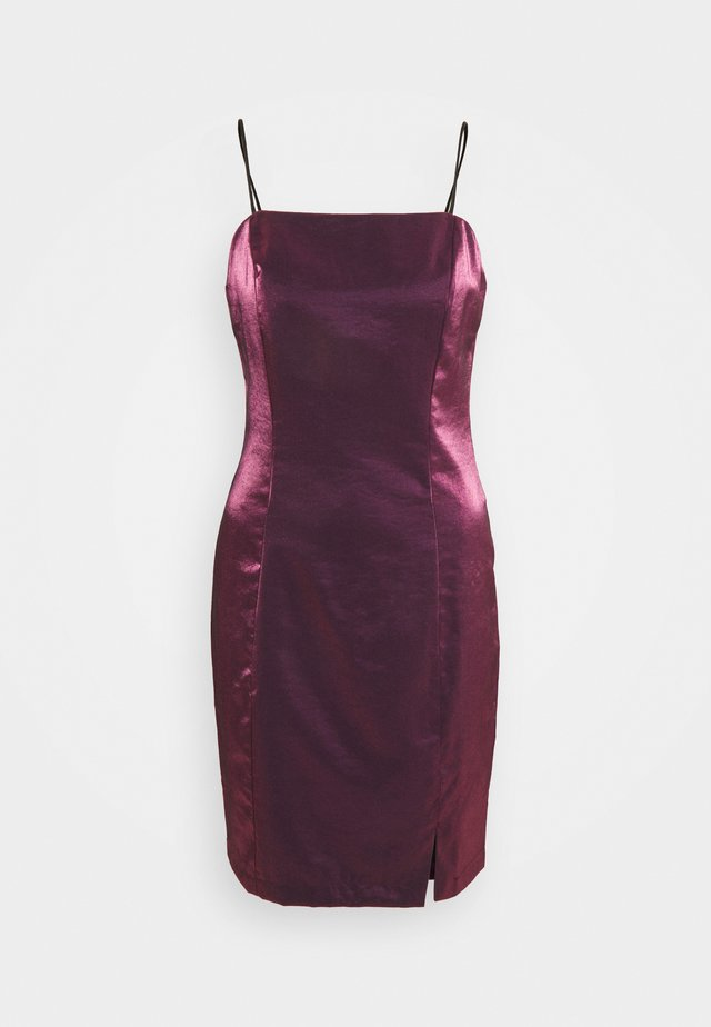 LADIES DRESS - Cocktailjurk - pink metallic