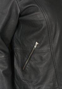 Zizzi - Giacca di pelle - black - 4