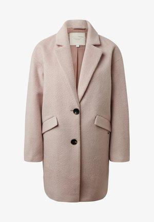 COCOON - Classic coat - light soft rose