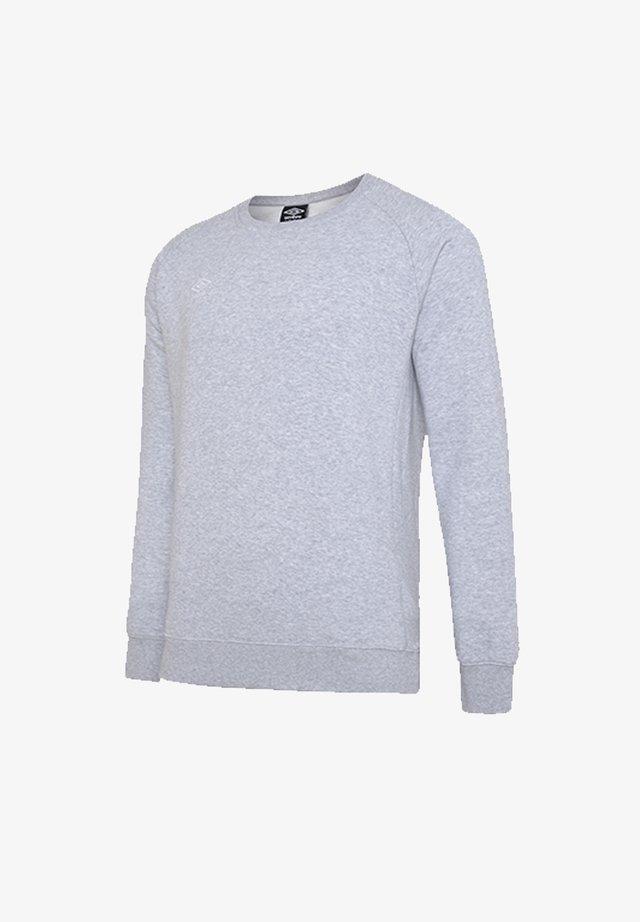 Sweatshirt - grauweiss