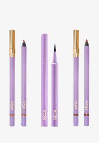 NIQA COSMETICS - EYE & LIP TRIO - Makeup set - schwarz - 0