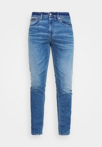 AUSTIN SLIM TAPERED - Jeans slim fit - light blue denim