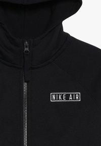 Nike Sportswear - AIR  - Zip-up hoodie - black/team gold/university red - 4