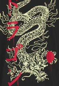 Only & Sons - ONSHARU LIFE  TEE - Print T-shirt - black - 4