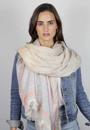 MIT GLAMOUR-APPEAL - Scarf - beige