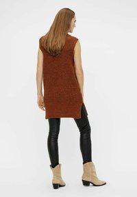 YAS - Jumper dress - mocha bisque - 2