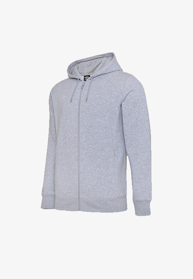 Umbro - Zip-up hoodie - grauweiss