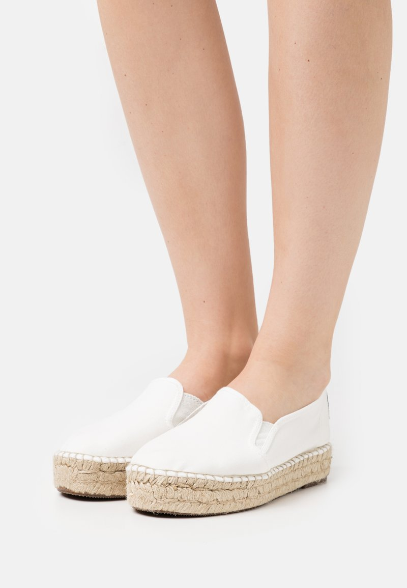 Natural World - Espadrillas - blanco