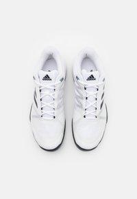 adidas Performance - CLUB CARPET - Carpet court tennis shoes - white - 3