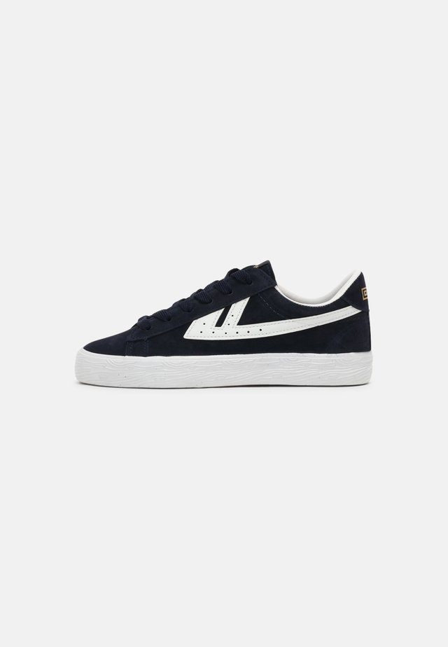 DIME UNISEX - Sneakers laag - navy/white