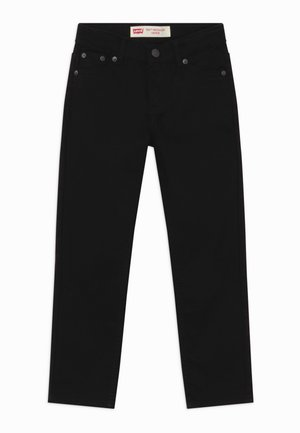 502 REGULAR TAPER UNISEX - Straight leg -farkut - black