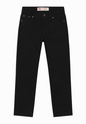 502 REGULAR TAPER UNISEX - Straight leg -farkut - black