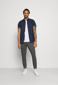 Only & Sons - ONSMARK PANT - Trousers - dark grey melange - 1