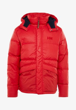 JACKET - Down jacket - flag red