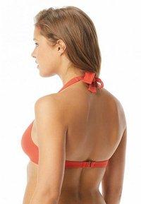 MICHAEL Michael Kors - ICONIC SOLIDS  - Top de bikini - terracotta - 1