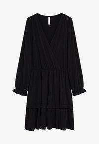 Mango - MOSS7 - Jersey dress - černá - 3