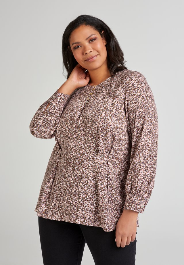 MIT PRINT - Blouse - dusty rose