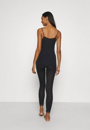 LEGGINGS - Pyjama bottoms - black