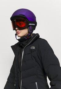 Alpina - NAKISKA UNISEX - Lyžařské brýle - black - 0