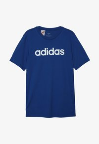 adidas Performance - LIN UNISEX - Print T-shirt - croyal/white - 2