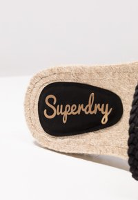 Superdry - MACRAME SLIDE - Mules - black - 2