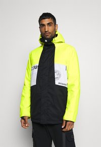 DC Shoes - DEFY JACKET - Snowboard jacket - syndicate white - 0