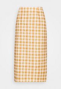 CABRINI  - Pencil skirt - orange
