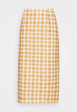 CABRINI  - Spódnica ołówkowa  - orange