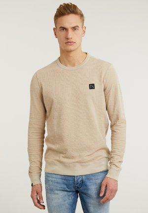 BURREL - Sweatshirt - beige