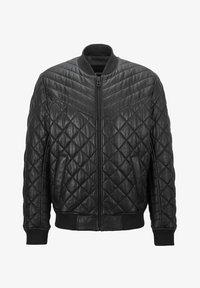 BOSS - JECEY - Leather jacket - black - 4
