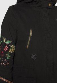 Desigual - Classic coat - black - 5