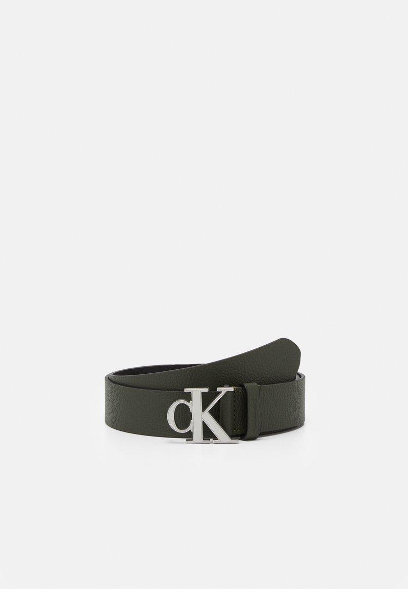 Calvin Klein Jeans - LOGO TEXT  - Pásek - green