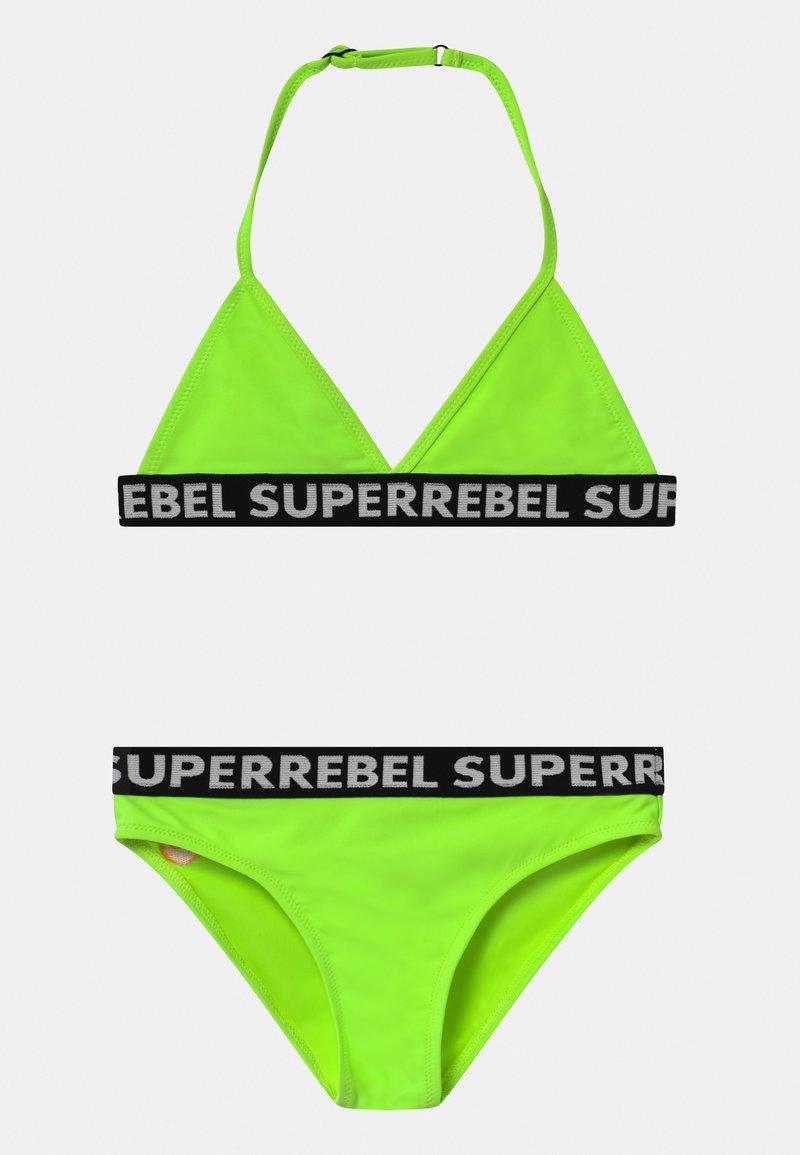 SuperRebel - SET - Bikini - gecko green