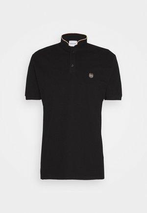 Basic T-shirt - black/pink corail