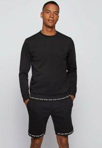 BOSS - SALBO - Sweatshirt - black - 0