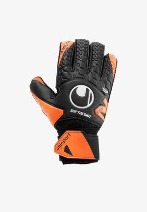 SOFT RESIST FLEX FRAME - Goalkeeping gloves - schwarzorangeweiss