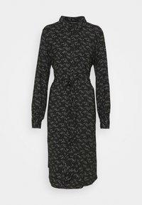 Bruuns Bazaar - FLORET GARDENIA DRESS - Shirt dress - black - 0