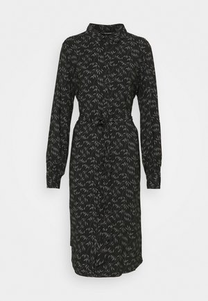 FLORET GARDENIA DRESS - Shirt dress - black