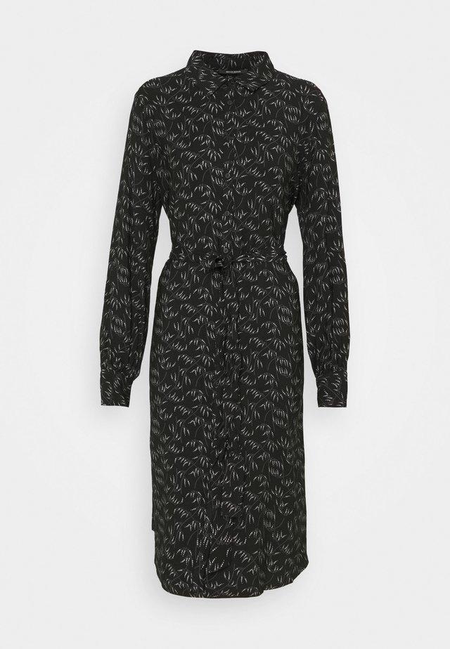 FLORET GARDENIA DRESS - Robe chemise - black